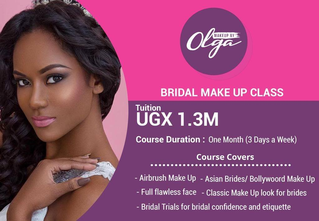 Make up by Olga bridal wedding introduction kwanjula makeup in Kampala Uganda
