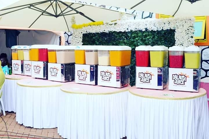 Dalausi juice types flavors fresh fruit juice for weddings introduction kwanjula kukyala in Kampala Uganda