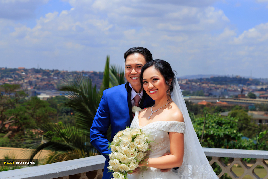 Michael weds Maricris Philippines wedding in Uganda