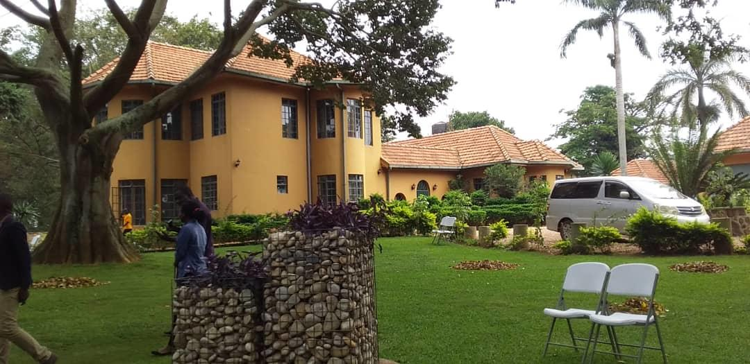 the estate e bwerenga outdoor beach venues in Kampala Uganda backyard view