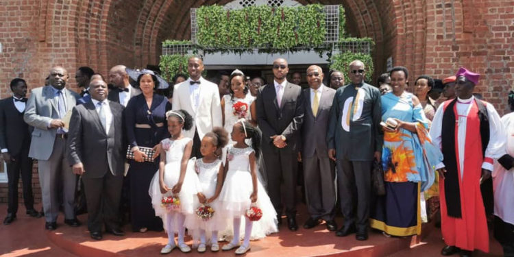 Jumia's Ron weds Cynthia, General Elly Tumwine's daughter