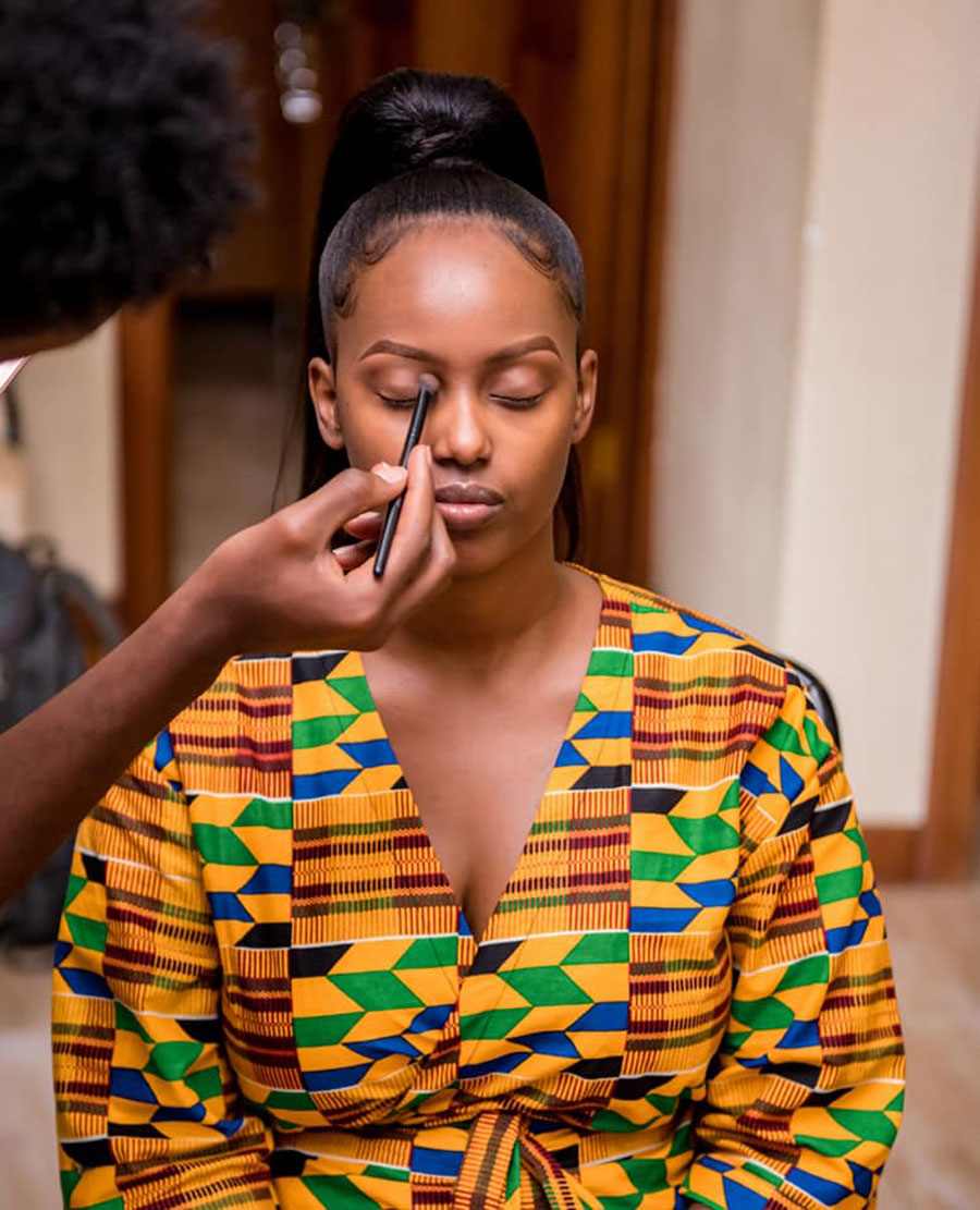 The New African Print Wedding Robes Trending Parties And Events